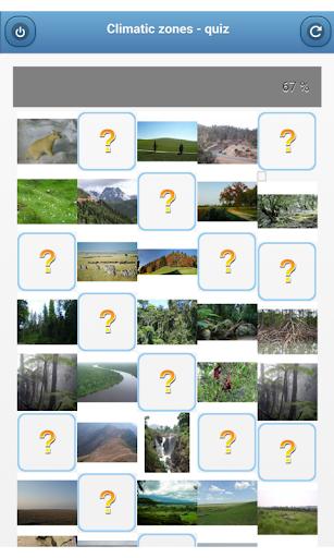 Climatic zones - quiz
