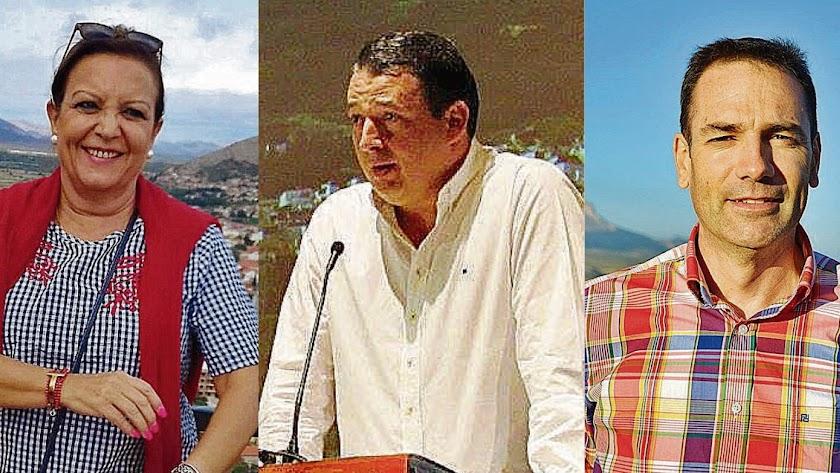 Candidatos de Cidadanos en Huércal-Overa, Tíjola y en Vélez-Blanco.