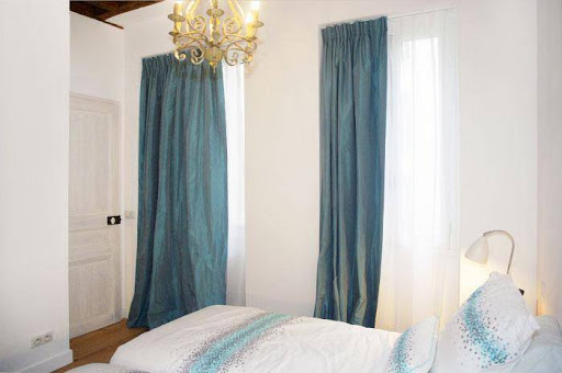Luxury bedroom at Luxury 2 bedroom Serviced Apartments in Latin Quarter