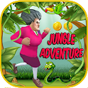 Scary Teacher Adventure : Jungle World Run icon