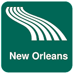 New Orleans Map offline