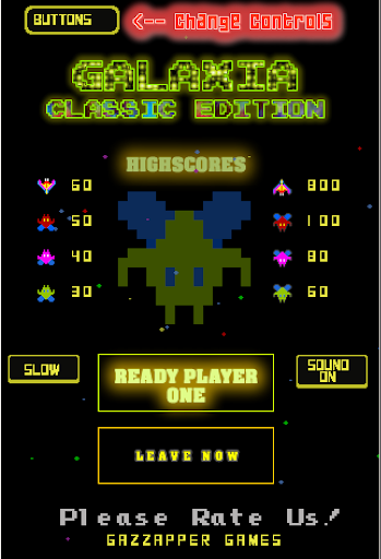 Galaxia Classic - 80s Arcade Space Shooter ss2