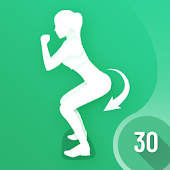 30 Days Buttocks Workout For Women, Legs Workout Icon
