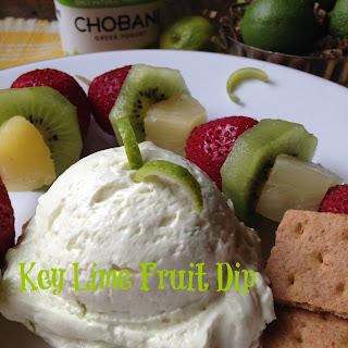 Key Lime Fruit Dip with Fruit Kabobs