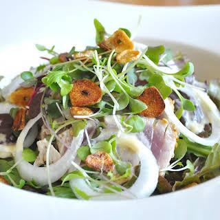 Tuna Tataki Salad.