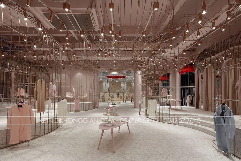 thiết kế shop thời trang JOOOS Mori Girl 4