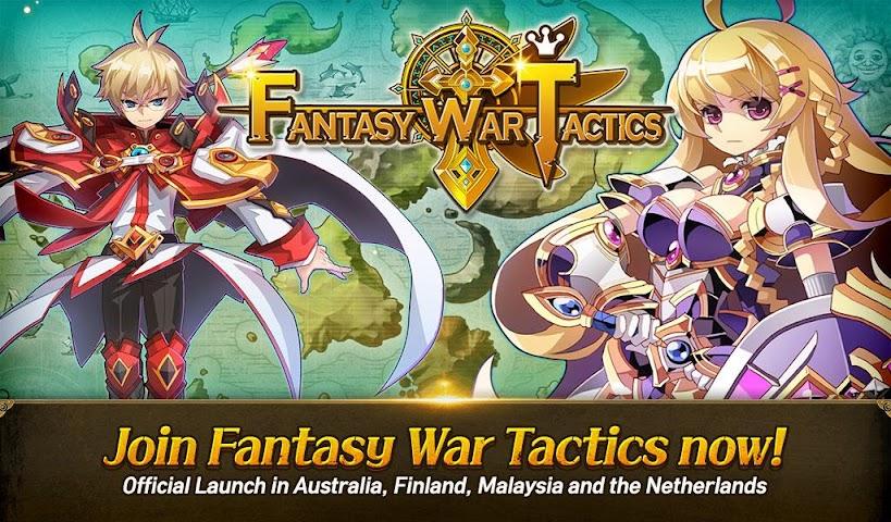 android Fantasy War Tactics Screenshot 12