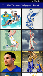 Klay Thompson Wallpapers HD NBA - náhled
