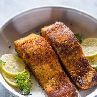 Salmon With Nut Crust Recipes