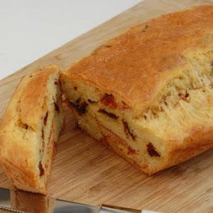 Chorizo and Dried Tomato Cake
