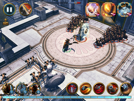 Olympus Rising: Tower Defense and Greek Gods apkpoly screenshots 13