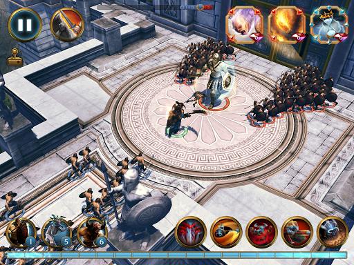 Olympus Rising: Tower Defense and Greek Gods apkmind screenshots 13