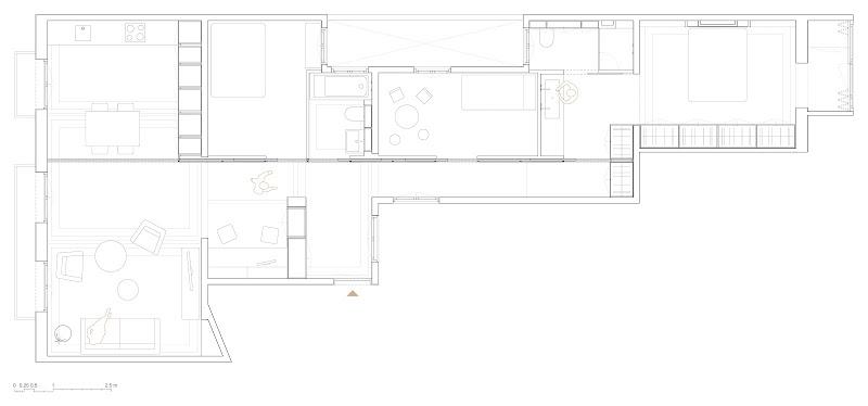 Vivienda luminosa en Barcelona - Traç Cuines / Nook Architects
