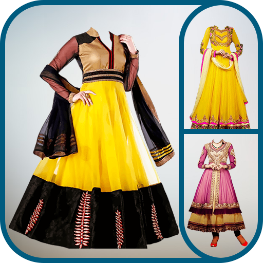 Anarkali Dress Photo Suit