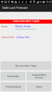 Daily Luck Forecast - náhled