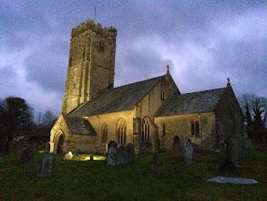 Photo: Winsford Church at Night