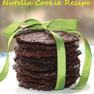 Nutella Cookie.