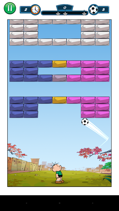 Jimmy Five Brick Breaker- screenshot