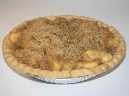 """Ghee's Old Fashioned Apple Pie """"My husband said it was the best..."""