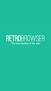 RetroBrowser - Time machine- screenshot thumbnail