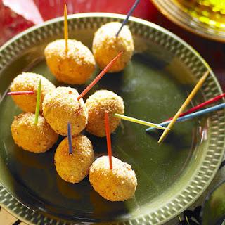 Fried Green Olives.