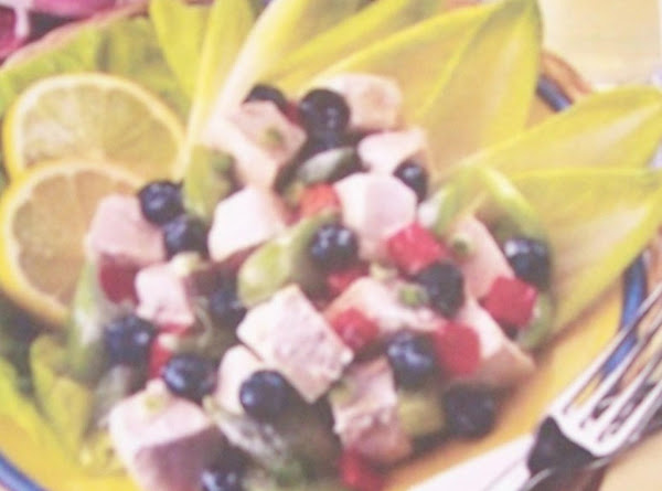 Lemon Blueberry & Chicken Salad Recipe