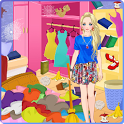 Messy House - Bedroom Cleaning icon