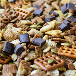 Cinnamon Maple Chex Mix.