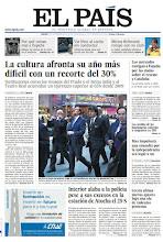 Photo: La cultura afronta su año más difícil con un recorte del 30%, Interior alaba a la policía pese a sus excesos en la estación de Atocha el 25-S y los mercados castigan a España por las dudas sobre el rescate y Cataluña, en nuestra portada. http://srv00.epimg.net/pdf/elpais/1aPagina/2012/09/ep-20120927.pdf