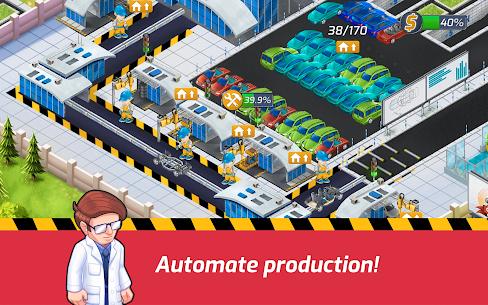 Idle Car Factory Mod Apk 14.1.2 (Free Shopping) 8