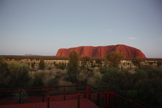 Photo: Year 2 Day 219 - Uluru at 6.22am