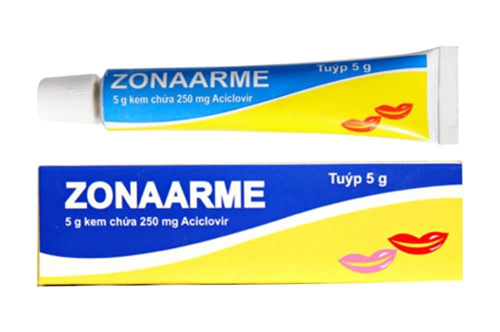 5g kem zonaarme đặc trị bệnh zona và thủy đậu