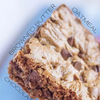 Chewy Chocolate Oatmeal Bars