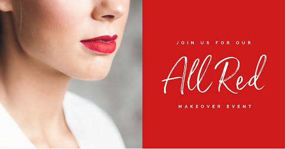All Red Makeover - Facebook Ad Template