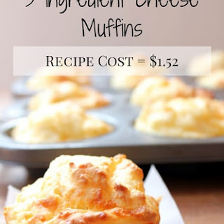 3 Ingredient Cheese Muffins.