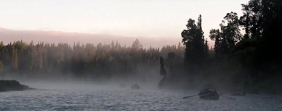 Photo: June morning on the Kasilof River, Alaska.