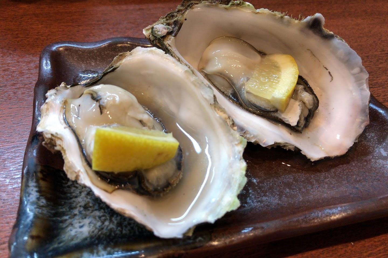 北海道産焼き牡蠣
