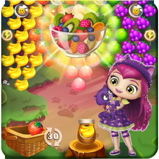 Little Girl Charmer Fruit Bubbles 🍒 (game)