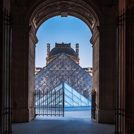 The Louvre by Jimmy Kohar - Buildings & Architecture Public & Historical