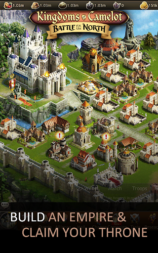 Kingdoms of Camelot: Battle  code Triche 1