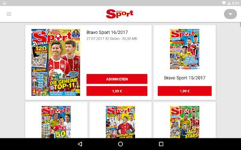 BRAVO Sport ePaper - náhled
