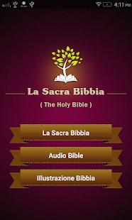 La Sacra Bibbia con Audio, testo, immagini - náhled