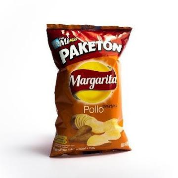 PASABOCAS MARGARITA   PAPAS FRITAS POLLO PAKETÓN X56G.
