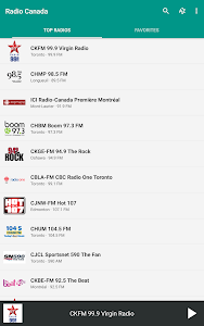 Radio Canada screenshot 8