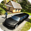 Offroad Hill Limo Pickup Public Transporter icon