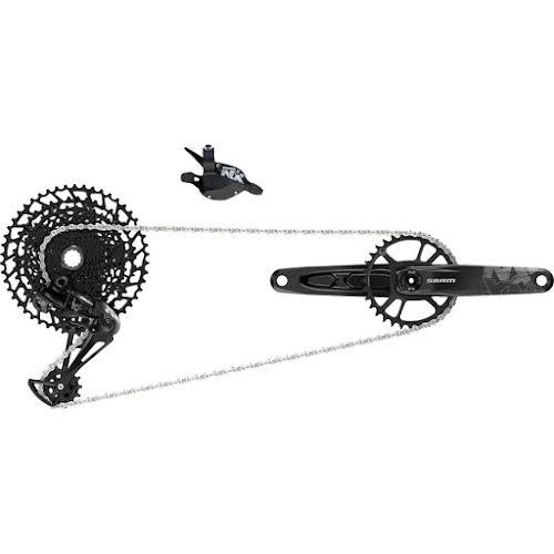 SRAM NX Eagle Groupset: 170mm 32 Tooth DUB Crank, Rear Derailleur, 11-50 12-Speed Cassette, Trigger Shift