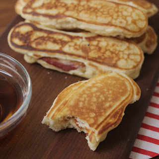 Breakfast Pancakes Bacon And Eggs Recipes