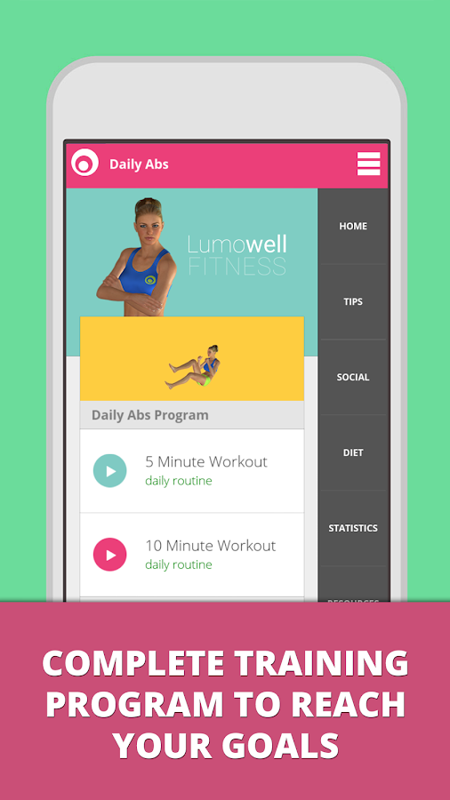 Daily ABS - Fitness Workouts- screenshot
