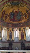Photo: Mosaics in dome, Modena Duomo