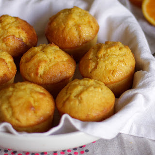 MOIST MINI ORANGE CAKES Recipe